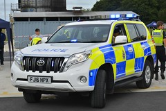 FJ16 HPX (S11 AUN) Tags: derbyshire police toyota land cruiser d4d 4x4 anpr traffic car roads policing unit rpu motor patrols 999 emergency vehicle fj16hpx