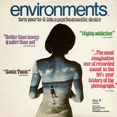 Environments Disc 9 (Jim Ed Blanchard) Tags: lp album record vintage cover sleeve jacket vinyl weird funny strange kooky ugly thrift store novelty environment disc 9 sound effects ocean lagoon sexy woman back clouds