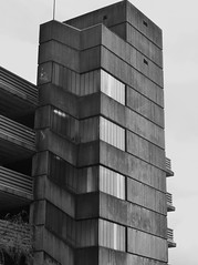 Car Park 2 (teaselbrush) Tags: birmingham west midlands uk british england city urban tower block blocks towerblock flats offices modern architecture skyscraper geometric geometry brutalist brutalism modernist car park carpark concrete digbeth