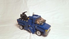 LEGO Transformers: Soundwave and Ravage [With Instructions] (michaelpickardart) Tags: lego legotransformers transformers soundwave ravage laserbeak megatron starscream frenzy rumble decepticons toys instructions moc optimusprime bumblebee prowl