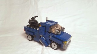 LEGO Transformers: Soundwave and Ravage [With Instructions]