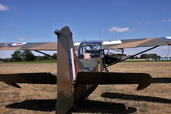 REAR VIEW AUSTER BREIGHTON (toowoomba surfer) Tags: auster aviation aircraft aeroplane army