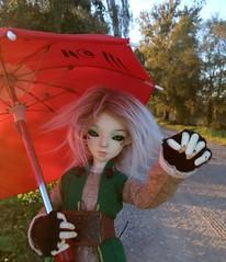 Как превед, только одной рукой (xaskixarf) Tags: greencolor blackeyes minsk resinsoulju green doll ju belarus spring bjd resinsoul bjdbelarus makuta flowers bjdclub
