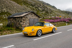 Ruf 3.8 (Nico K. Photography) Tags: porsche ruf 38 rare yellow supercars classic nicokphotography switzerland julierpass