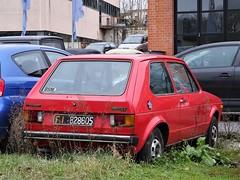 1976 Volkswagen Golf LX (Alessio3373) Tags: auto cars autoshite abandoned abandonment abandonedcars autoabbandonate unused unloved neglected forgotten forgottencars targhenere blackplates volkswagen golflx volkswagengolf volkswagengolflx