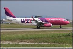 AIRBUS A320 232 WIZZ AIR HA-LYB 6093 Bale Mulhouse mai 2018 (paulschaller67) Tags: airbus a320 232 wizz air halyb 6093 bale mulhouse mai 2018