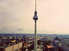 One Love. One City. Berlin. (Urbex_Chroma) Tags: berlin fernsehturm alexanderplatz
