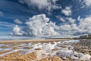 Clouds Over West Runton Beach