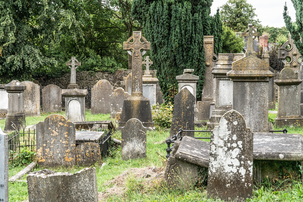 OLD CHURCHYARD KNOWN AS ST. JOHN'S [DUBLIN ROAD KILKENNY]-142923