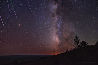 Meteors, Mars, and the Milky Way