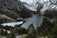Laguna Pirquinco (tomastapiahp) Tags: friendly friends mountain lake lago laguna chile landscape biobio pirquinco fall snow paisaje travesia