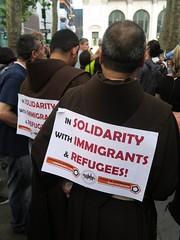 world refugee day 2018, 6/20/18 (hollow sidewalks) Tags: currentevents politics nyc newyorkcity rally manhattan bryantpark hollowsidewalks worldrefugeeday worldrefugeeday2018