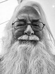 self_portrait-1_B&WHDR_Dehaze (old_hippy1948) Tags: monochrome