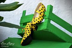 Zapaticos de gitana... (E.M.López) Tags: 2018 alcalálareal jaén andalucía españa zapatos zapatosdegitana lunares baile bailar zapatosdebaile decoración fiesta feria fiestadelacruz cruzdemayo popular adorno flamenca flamenco sierrasurdejaén