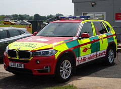 Midlands Air Ambulance Critical Care Team BMW X5, LJ17 ASO. (Vinnyman1) Tags: midlands air ambulance critical care team bmw x5 lj17 aso rrv rapid response vehicle charity wmas west service nhs national health foundation trust heart of raf cosford royal force 2018 show albrighton wolverhampton shropshire aviation military aircraft shifnal emergency services 999 england uk united kingdom gb great britain