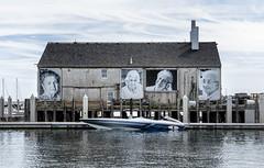 Portraits and Speedboat (PAJ880) Tags: wharf portraits women provincetown ma speedboat cape cod
