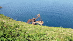 18 06 23 Samson Wreck (3) (pghcork) Tags: samson craneship shipwreck ships shipping coast waterford ardmore ardmorecliffwalk cliffwalk cliffs
