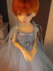 blue mesh dress (Pralinka Atelier) Tags: bjd abjd dollfie dim dimlarina dress sale dollclothing doll decor balljointeddoll blue background larina lili lace love lacework elegant ginger