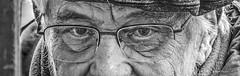 eyes of an artist (albyn.davis) Tags: people elderly eyes face expression glasses artist blackandwhite portrait