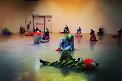 Burn-out (__Thomas Tassy__) Tags: happy cool nice awesome clown tokyo palais paris expo art 2018 fun weird performance great color canon
