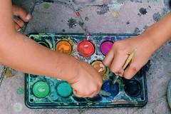 Tarde de colores (ramonsanchezpina) Tags: 35mmdx pinturas colores acuarelas