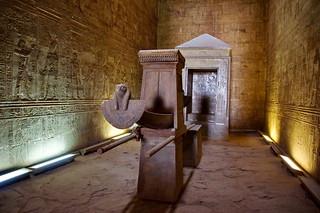 Horus Tempel in Edfu - Heilige Barke