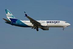 C-FNWD (WestJet) (Steelhead 2010) Tags: westjet boeing b737 b737800 yyz creg cfnwd