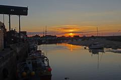 Wells harbour sunset (Whipper_snapper) Tags: wellsnextthesea wells harbour sunset sea sun boats norfolk england uk gb pentax pentaxk5
