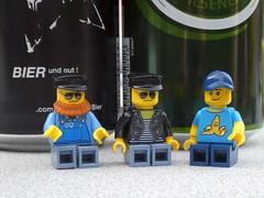 Bier und gut (captain_joe) Tags: toy spielzeug 365toyproject lego minifigure minifig legome urlaub holiday bier beer