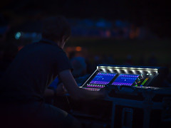 2018-08-11 223/365 Outdoor concert sound mixing (Rick McCutcheon) Tags: 365the2018edition 3652018 day223365 11aug18 olympusomdem5 olympus75mm concert soundmixing