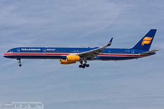 TF-ISX Icelandair Boeing 757-3E7(WL) painted in 100 Years Icelandic Independence special colours  (FRA - EDDF - Frankfurt)