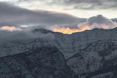 Fire in the sky (NinjaCat1212) Tags: landscapes utah winter light red sky natural nature outside landscape sunrise