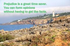 Prejudice (Tony Shertila) Tags: cascais geo:lat=3869062658 geo:lon=943067103 geotagged lisboa portugal prt santamarta words saying text
