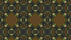 JLF1288 Neon Rug (jlfractal) Tags: exploradorff fractal fractalart julofi brown pattern circles geometry texture squares