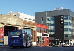 Trent Barton 701, Nottingham (Lady Wulfrun) Tags: trentbarton indgo 701 returning bus garage nottingham 22nd june 2018 volvo biocity machinemart manversstreet