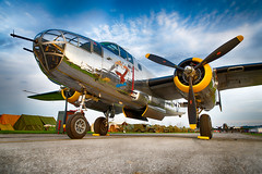 DSC_0284_HDR-Edit (CEGPhotography) Tags: 2018 reading ww2 ww2weekend wwii wwiiweekend airshow midatlanticairmuseum pa history b25 b25mitchell mitchell bomber