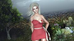 Bʀᴇᴀᴛʜᴇ Yᴏᴜ Iɴ (SandraReja) Tags: sl secondlife virtual fashion blondie vanillabae charlottedress emotions event stripme equal10 cosmopolitan