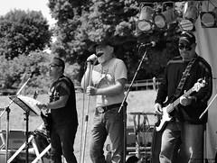 Vocals (John Neziol) Tags: jrneziolphotography portrait photography people brantford blackwhite monochrome closeup band singer vocals nikon nikoncamera nikondslr nikond80 naturallight guitar leadguitar bassguitar bandmembers outdoor