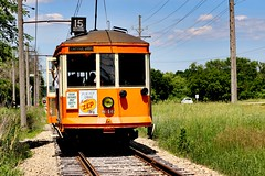Route 15. Oakland- Delaware (Laurence's Pictures) Tags: east troy electric railroad milwaukee light power we energy interurban trolley museum wisconsin csssb chicago south shore bend traction passenger tourism things do elegant farmer