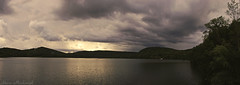 Stormy Evening At Monksville_4132-4138 (smack53) Tags: smack53 monksville monksvillereservoir reservoir water clouds lake sky cloudy evening eveningsky storm stormy ringwood newjersey panorama summer summertime nikon d100 nikond100