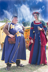 M5 Living History - Medieval Wenches (BobFrancis426) Tags: medieval wenches worcester spetchleypark reenactment m5livinghistory