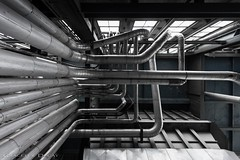 Pipes (Graceful Decay) Tags: abandoned abstract architecture building canon decay decayed derelict deserted eos forgotten forsaken gracefuldecay grey industry industrial industrie lost lostplaces metal minimalism minimalistic old pipes powerplant simplicity steel urbanexploration urbex vergessen verlassen verfallen