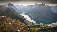 Sunnmore Alps (Ela Dzimitko) Tags: saksa urke fjord norway sunnmorealps sunnmore mountains mountain rugged outdoors stunningoutdoors eladzimitko hiking hillwalking trekking oye