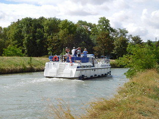 Boat near Sancerre