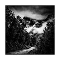Après l'orage... (gwennscott) Tags: storm montagne mountain nuage clouds blackwhite noirblanc monochrome