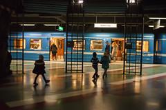 Late for the Subway (Helena Normark) Tags: subway tunnelbanan kungsträdgården street streetphotography stockholm sweden sverige sonyalpha7ii a7ii 35mm lensbaby burnside35 lensbabyburnside35 lensbabylove seeinanewway
