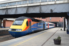 East Midlands Trains HST 43049 (Will Swain) Tags: leicester 6th april 2018 train trains rail railway railways transport travel uk britain vehicle vehicles england english leicestershire city station emt class 43 east midlands hst 43049 049
