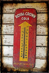 Royal Crown Cola (garywitte845) Tags: royalcrowncola rc soda pop thermometer antique old iowa carnarvon h