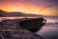 The Cobb, Lyme Regis (ed027) Tags: ifttt 500px seashore seagull wall coast sunset sunrise dawn dusk colorful colours mountains historical cloudscape seaside boat ship calm coastline harbor harbour rocks tide golden hour wide angle perspective beauty nature composition landmark landscapes