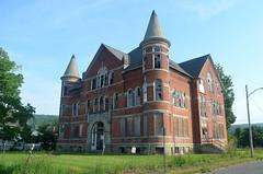 1st Sidney High School (rchrdcnnnghm) Tags: abandoned school highschool sidneyny delawarecountyny